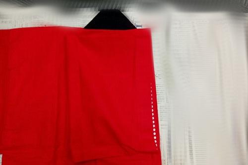 前衿を前面にする畳み手順-2
