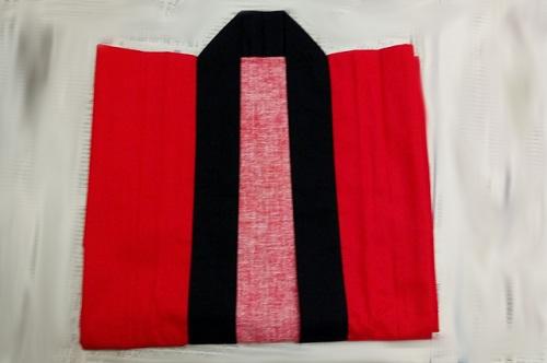 前衿を前面にする畳み手順-5