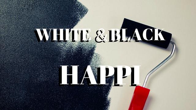 白&黒 法被